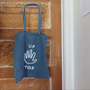 """Madewell """"Up Top"""" Insider Tote"""